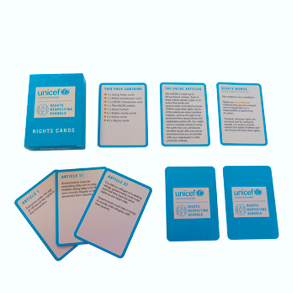 Image of Rights Playing cards