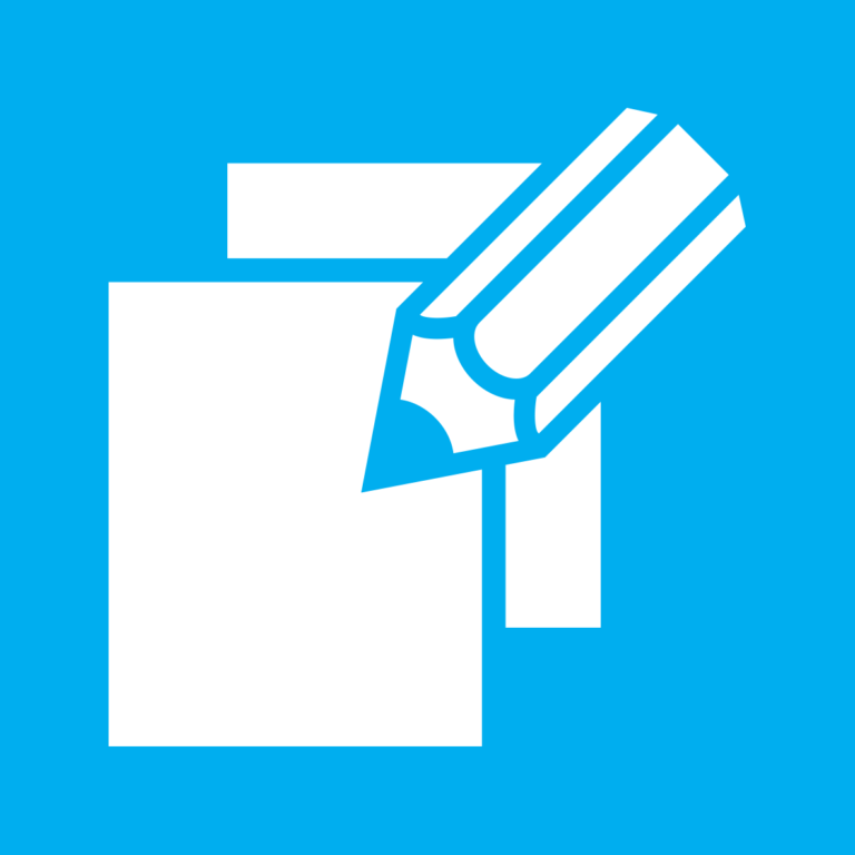 Graphic icon to represent publications